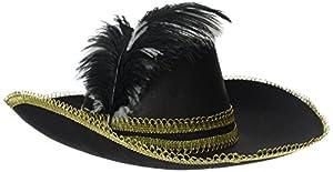 Reír Y Confeti - Fiemou047 - Accesorio Disfraz - Pluma sombrero de fieltro y cinta