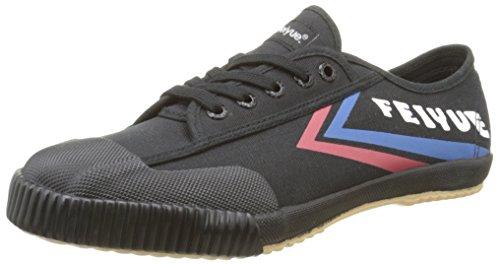 FeiyueFe Lo Classic - Sneakers da Uomo, colore Nero (Noir (Black/Blue/Red/Gum)), taglia 42