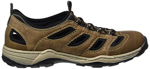 Rieker 08065 Sneakers-men, Sneakers basses homme Marron - Braun (zimt/reh/schwarz / 24)