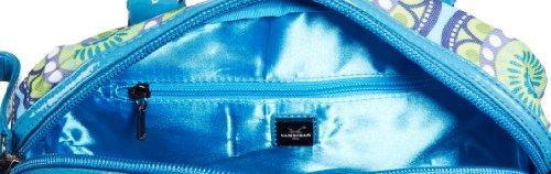 Sansibar Twister B-958 TW, Borsa a spalla donna, 28x24x15 cm (L x A x P) Blu (Blau (aqua))