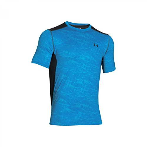 Under Armour Herren Raid SS Fitness - T-Shirts & Tanks, Electric Blue (429), S
