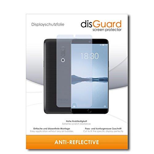 disGuard® Bildschirmschutzfolie [Anti-Reflex] kompatibel mit Meizu 15 Plus [2 Stück] Entspiegelnd, Matt, Antireflektierend, Extrem Kratzfest, Anti-Fingerabdruck - Panzerglas Folie, Schutzfolie