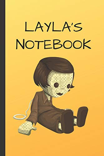 Layla's Notebook: Doll  Writing 120 pages Notebook Journal -  Small Lined  (6