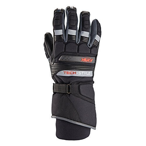 Knox Techstyle Termica Impermeabile Motorcyce Guanti - G