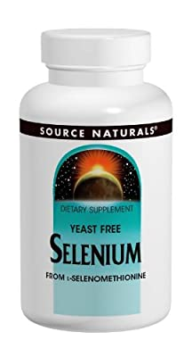 Source Naturals Selenium from L-Selenomethionine, 60 Tabs 200 MCG from Source Naturals
