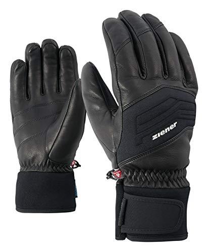 Ziener Herren Gowon AS Glove Alpine Ski-Handschuhe/Wintersport | Wasserdicht, Atmungsaktiv, , schwarz (black), 10