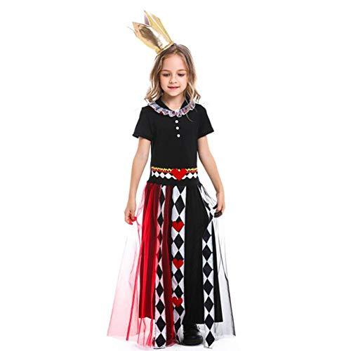 ASDF Halloween Girl Poker Queen - Poker Girl Kostüm