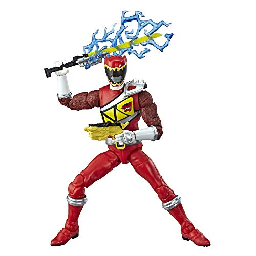 Power Rangers Dino Charge Lightening Collection Red Ranger