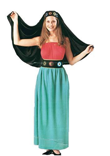 Costumi novidea costume vestito carnevale adulto zingara taglia unica