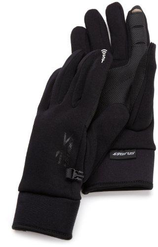 Seirus Isolierte Handschuhe (Seirus Innovation 8012Xtreme Alle Wetter Wasserdicht Handschuh mit SoundTouch Touchscreen Technologie-Passgenaues und 4Wege Stretch Top, Herren, 8012, Schwarz, S)