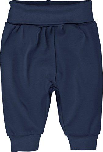 Schnizler Unisex Baby Jogginghose Babyhose, Pumphose mit Elastischem Bauchumschlag, Oeko-Tex Standard 100, Blau (Marine 11), 74