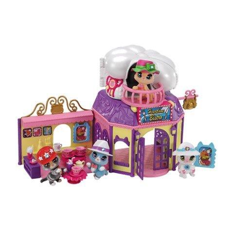 Kitty Club Heartlane Cafe Playset (Multi-Colour) by Kitty Club -
