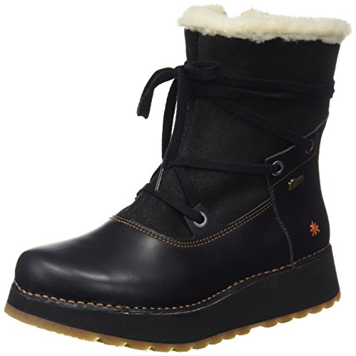 Art Damen Heathrow Kurzschaft Stiefel, Schwarz (Heritage-Wax Black-Night), 39 EU (Art Stiefel Schuhe)