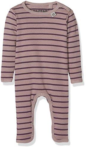 PAPFAR Baby-Mädchen Taylor Stripe Spieler Langarm, Rosa (Quail 701), 92 (Herstellergröße: 2Y)