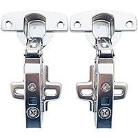 Hettich Sensys 8645i TH52 110 Grad Eckanschlag Standard Scharnier mit Soft Close Automatikscharnier Integrierter Dämpfung Scharniere für Küchenschrank Kleiderschrank 2 Stück Von LIKERAINY