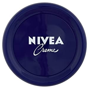 NIVEA Creme Pack of 3 (3 x 200 ml), Moisturising Skin Cream, Intensively Caring Face Cream, All Purpose Body Cream for…