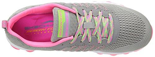 Skechers Skech-AirStyle Fix, Low-Top Sneaker donna Grigio (Grau (LGPK))