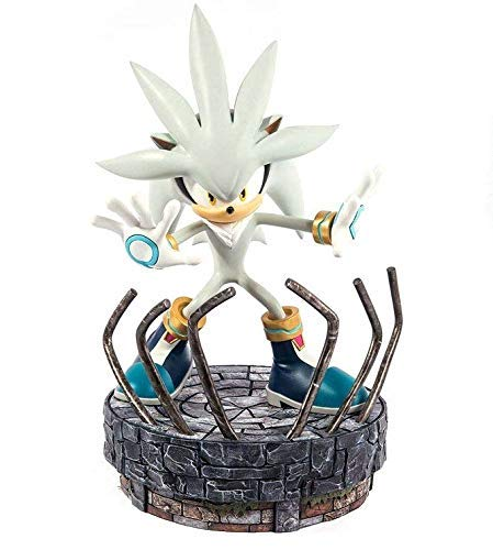 Sonic the Hedgehog Statue Silver the Hedgehog 44 cm First Figures