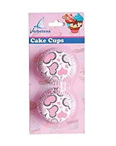 Verbetena - 48 capsulas para cakes, corazones (011050002)