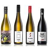 GEILE WEINE Weinpaket GW-Lieblinge (4 x 0,75l)   Das perfekte Weißwein und Rotwein Probierpaket   Unsere Favoriten an Winzerweinen aus Deutschland und Italien