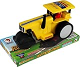 #7: DealBindaas Pull Back Road Roller Small | No Battery No Remote|Miniature Scaled Models | TATA City Team | Dinky Cars | Yellow
