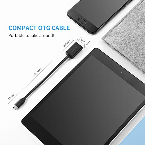 726829bb9c4 UGREEN Cable OTG con Micro USB para Xiaomi Redmi Note 5A Prime Teléfono Movil  y Tablet ...