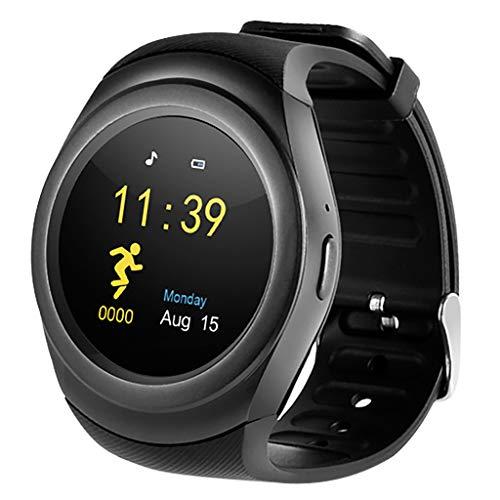 EERTX Smartwatch Herren Damen Uhren Smartwatch für Herren Skmei Schrittzähler Kalorien Sportuhren für Xiaomi Huawei (388 Uhr Batterie)