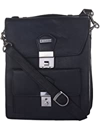 Leatherman Black Shoulder Pouch Bag With Lock