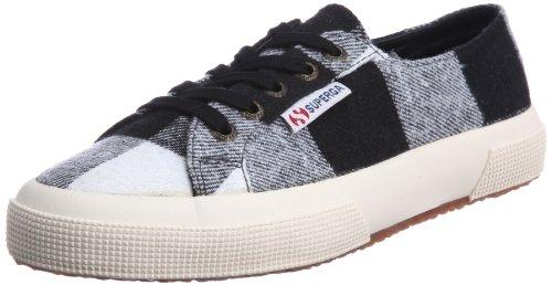 Superga 2750- Twd1u S0041r0-1, Sneaker Donna Nero (schwarz (blanc Cassé-noir 992))