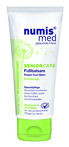 numis med SENIOR CARE Fußbalsam  -  parabenfrei, 2er  Pack (2 x  100 ml)