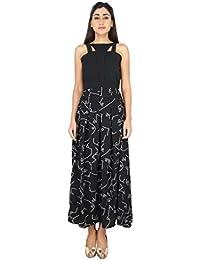 LondonHouze Printed Maxi Dress