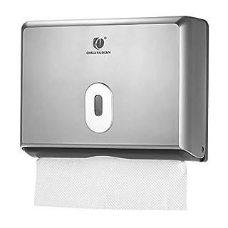 Anself Papierhandtuchspender Wandmontierter Tissue Boxspender für Küche Badezimmer