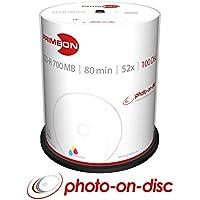 Primeon 2761106 CD-R Rohlinge (80 Min, 700MB, 52x Cakebox, 100-er Spindel)