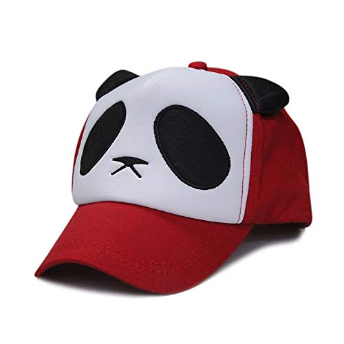 MZ Liebes-Panda-Katzen-Ohr-Baseballmütze-Sonnenschutz-Hut-LKW-Hut im Freien Karikatur-Paar-Hut Eltern-Kind Kappe, 3