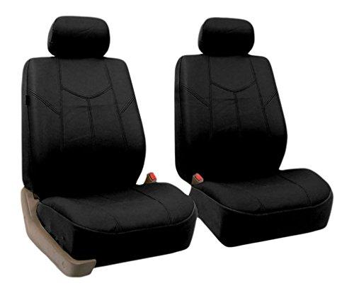 FH gruppo PU009BLACK102nero Roma PU coprisedili anteriori, set di 2(airbag Ready)