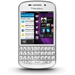 BlackBerry Q10 Smartphone débloqué 4G (Ecran: 3.1 pouces - 16 Go - BlackBerry OS 10) Blanc
