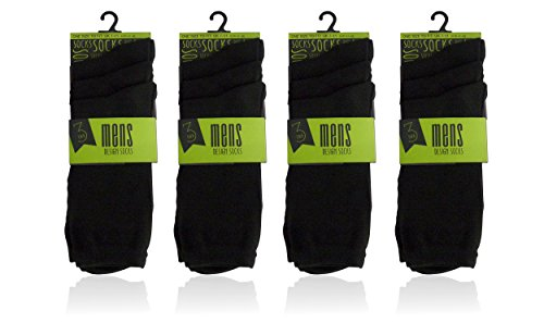 12-pairs-polyester-elastane-office-casual-work-school-men-black-socks-size-7-11