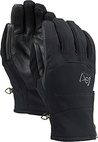 Burton aK tech gloves paire de gants pour homme Large Noir - Noir