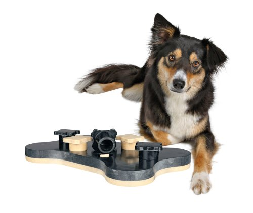 Trixie 32021 Strategiespiel für Hunde Dog Activity Game Bone, 31 x 20 cm - 2