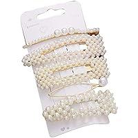 ukyukiko - Fermagli per capelli eleganti con perle, accessori per capelli