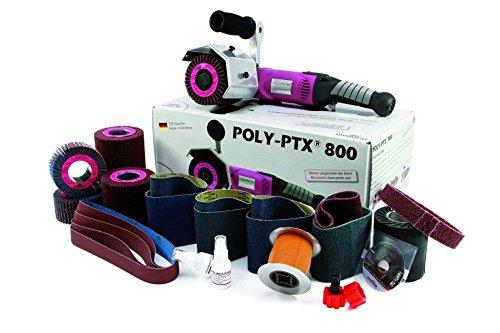 Preisvergleich Produktbild Eisenblaetter Satiniermaschine POLY-PTX 800 Basis Set, 220Volt