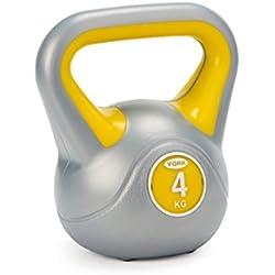 York Fitness - Pesa Rusa (Vinilo) Yellow 4kg Talla:4kg