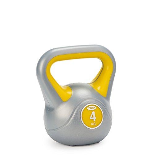 York Fitness - Pesa Rusa Amarilla 4 kg