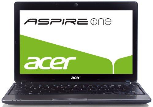 Acer Aspire One 721 29,5 cm (11,6 Zoll) Netbook (AMD Athlon II Neo K125, 1,7GHz, 2GB RAM, 250GB HDD, ATI HD 4225, Win7 HP) schwarz
