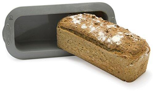 BackeFix Große Brotbackform für eigenes Brot 1000g - antihaftende Kastenform Brot 26 cm