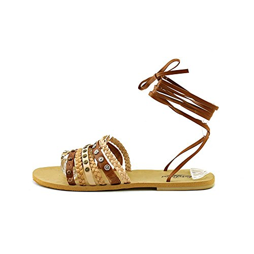 Lucky Brand Blaire Synthétique Sandales Gladiateur Dk Camel Combo