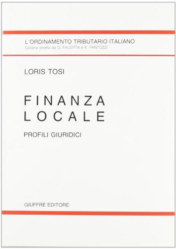 Finanza locale. Profili giuridici