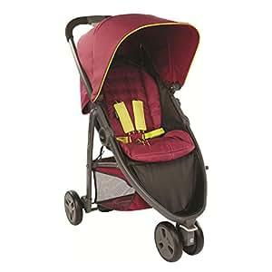 Graco Evo Mini Stroller/Pushchair - Berry