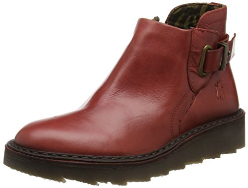 Fly London Amie954fly, Stivali Desert Bottes Donna Rosso (rouge)