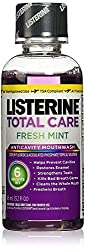 Listerine Total Care Anticavity Mouthwash, Fresh Mint 95ml